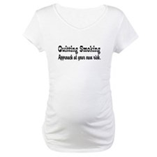 Quitting Smoking Warning Shirt