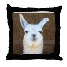 Cute Cute llama Throw Pillow