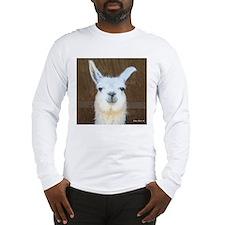 Cute Llama Long Sleeve T-Shirt
