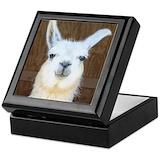 Llama Keepsake Boxes