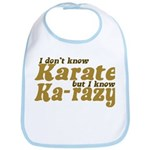 I don't Know Karate Bib