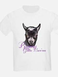 Pygmy Goat Gotta Love 'em T-Shirt