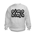 Pimp Ninja Kids Sweatshirt