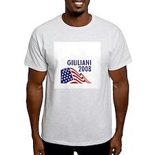 Giuliani 08 Ash Grey T-Shirt