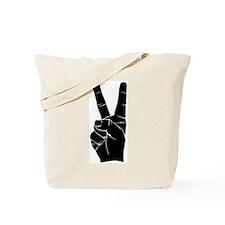 BIG PEACE FINGERS Tote Bag