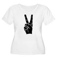 BIG PEACE FINGERS T-Shirt