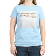 Knowledge Speaks T-Shirt