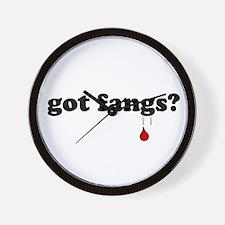 got fangs? Wall Clock
