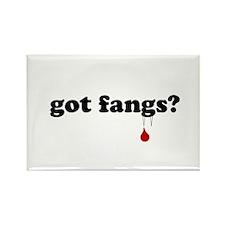 got fangs? Rectangle Magnet