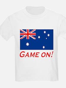 Australian Pride Game On Kids T-Shirt
