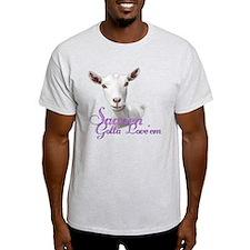 Saanen Goat Gotta Love 'em T-Shirt
