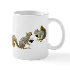 Squirrels Drinking Wine Mug