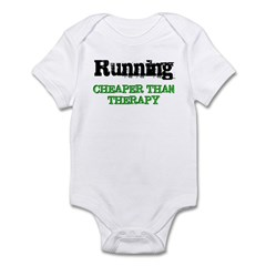 Cheaper Than Therapy Infant Bodysuit