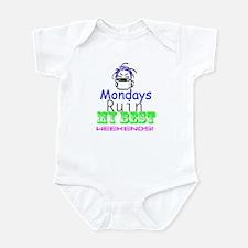 Blue Monday Infant Bodysuit