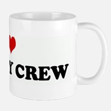 I Love SUPA FLY CREW Mug