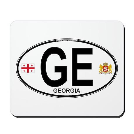 Georgia Euro Oval Mousepad