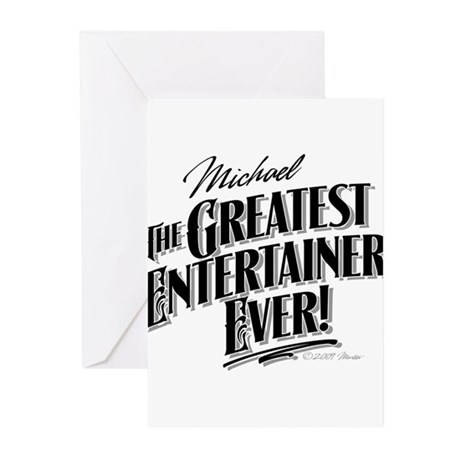 MJ Greatest Greeting Cards (Pk of 20)
