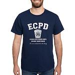 Evans City Police Dept Zombie Task Force Dark T-Sh