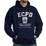 Evans City Police Dept Zombie Task Force Hoodie (d