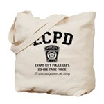 Evans City Police Dept Zombie Task Force Tote Bag