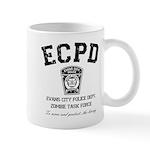 Evans City Police Dept Zombie Task Force Mug