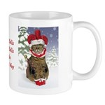 Jester Cat Christmas Mug