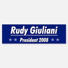 Giuliani 08 Bumper Bumper Bumper Sticker
