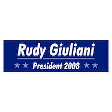 Giuliani 08 Bumper Bumper Sticker