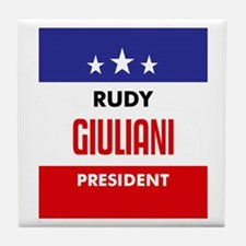 Giuliani 08 Tile Coaster