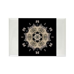 Queen Annes Lace Ia Rectangle Magnet