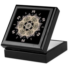 Queen Annes Lace Ia Keepsake Box
