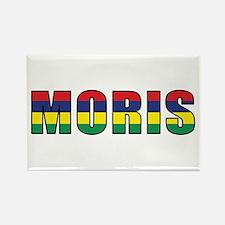 Mauritius (Creole) Rectangle Magnet