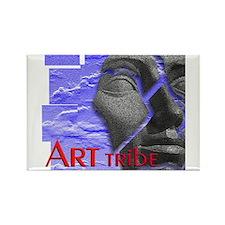 ART TRIBE, Rectangle Magnet