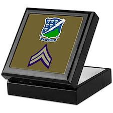 506th PIR Sample Insignia Keepsake Box