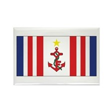 Mauritius Naval Ensign Rectangle Magnet
