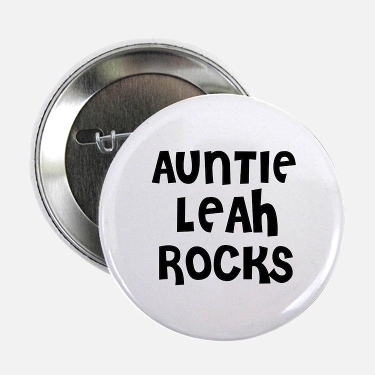 """AUNTIE LEAH ROCKS 2.25"""" Button (10 pack)"""