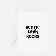 AUNTIE LEAH ROCKS Greeting Cards (Pk of 10)