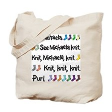 See Michaela Knit Tote Bag