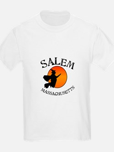 Salem Massachusetts Witch T-Shirt