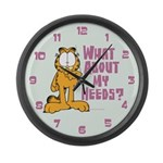 What About My Needs? Large Wall Clock
