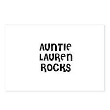 AUNTIE LAUREN ROCKS Postcards (Package of 8)