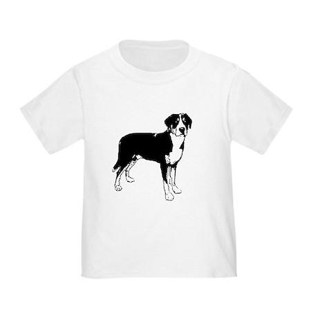 Greater Swiss Mountain Dog Toddler T-Shirt