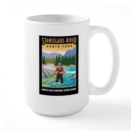 Fishing Large Mug