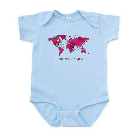 Miles of Love - Ethiopia Infant Bodysuit