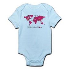 Miles of Love - China Infant Bodysuit