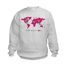 Miles of Love - China Sweatshirt