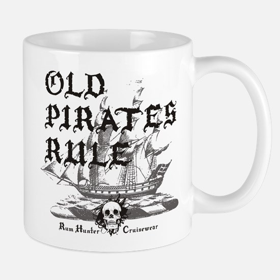 Old Pirates Rule Mug