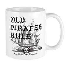 Old Pirates Rule Small Mug