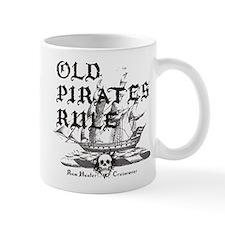Old Pirates Rule Small Mug