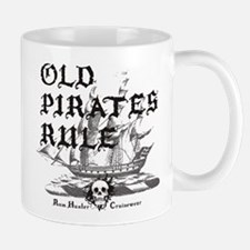 Old Pirates Rule Small Small Mug
